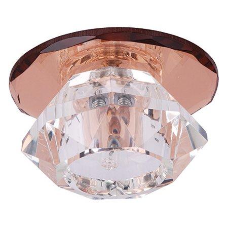 Stropní bodové svítidlo hnědé max 20W HL801 01343 Horoz