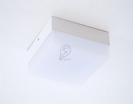 Stropnice LED hranatá, nástěnná 12W 4000K Robin D, Struhm