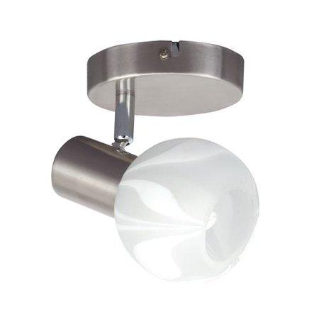Svítidlo nástěnné - stropní matný chrom 9W Bodrum HL785N Horoz