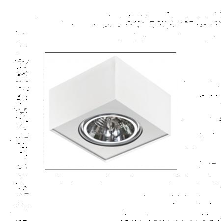 Svítidlo stropní Paulo 1 230V LED 16W bílá Azzardo GM4107