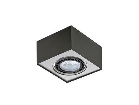 Svítidlo stropní Paulo 1 230V LED 7W stmívatelné černá hliník Azzardo GM4107