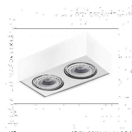 Svítidlo stropní Paulo 2 230V LED 16W bílá Azzardo GM4203