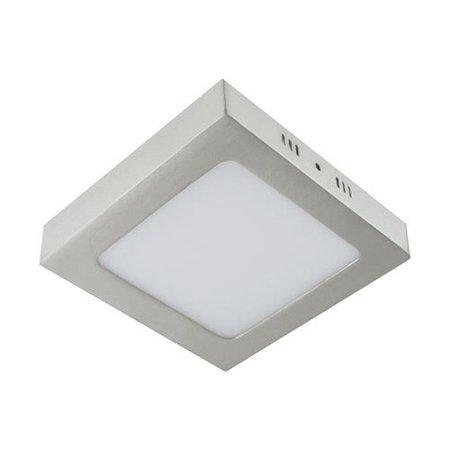 Svítidlo stropní, plafon MARTIN LED D, hranatá, 6W, 4000K, matný chrom, 3276, Struhm