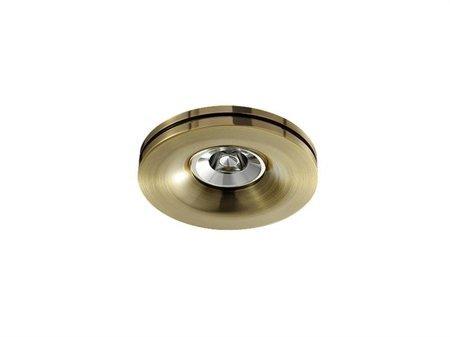 Svítidlo stropní podomítkové Marika AB zlatá Azzardo SH-009