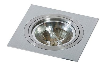Svítidlo stropní podomítkové Siro 1 hliník Azzardo GM2101