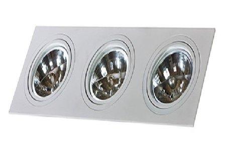 Svítidlo stropní podomítkové Siro 3 bílá Azzardo GM2300