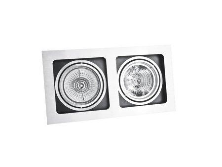 Svítidlo stropní podomítkové Sisto 2 bílá černá Azzardo GM2202