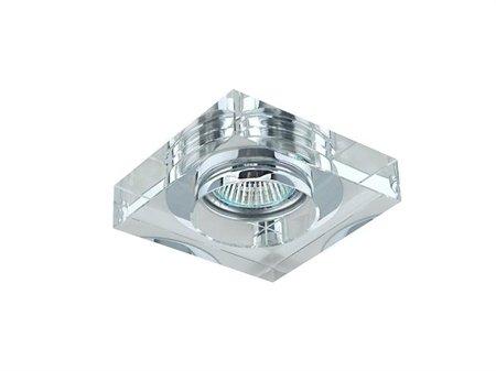 Svítidlo stropní podomítkové Vektor hranaté transparentní Azzardo SC760SQ-A