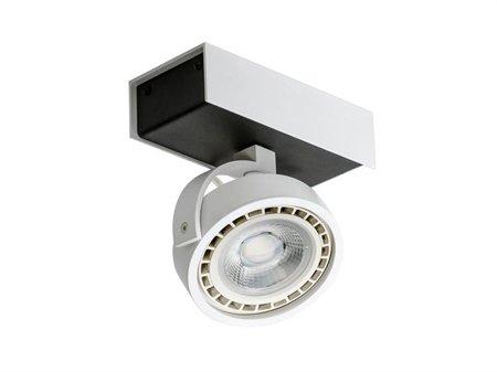 Svítidlo stropní reflektor Max 1 12V černá bílá Azzardo GM4114-12V