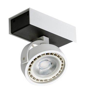 Svítidlo stropní reflektor Max 1 230V 15W LED ściemnialny černá bílá Azzardo GM4114-230V