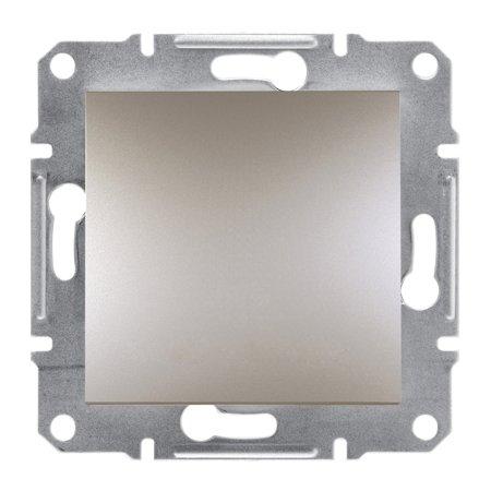 Tlačítko 1-pólový bez rámečku, hnědá Schneider Electric Asfora EPH0700169