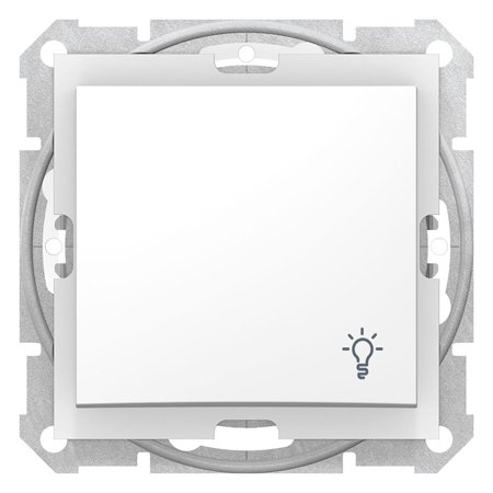 "Tlačítko ""světlo"" IP44 bílá Sedna SDN0900321 Schneider Electric"
