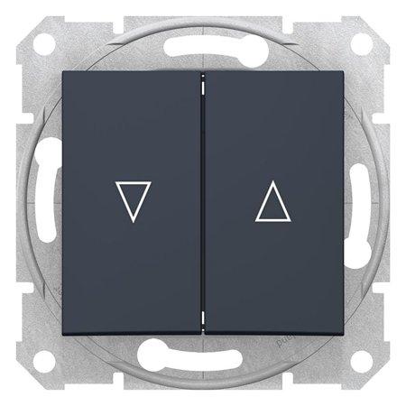 Tlačítko žaluziové grafitová Sedna SDN1300170 Schneider Electric