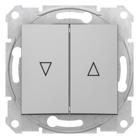 Tlačítko žaluziové hliník Sedna SDN1300160 Schneider Electric