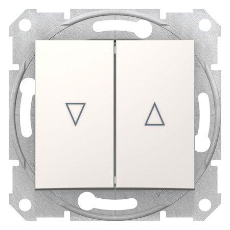 Tlačítko žaluziové krémová Sedna SDN1300123 Schneider Electric