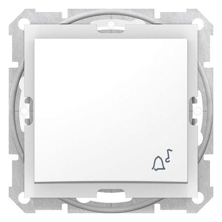 "Tlačítko ""zvonek"" IP44 bílá Sedna SDN0800321 Schneider Electric"