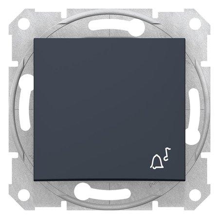 """Tlačítko """"zvonek"""" grafitová Sedna SDN0800170 Schneider Electric"""