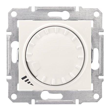 Tlačítkový - otočný stmívač RL/RC, krémová Sedna SDN2201123 Schneider Electric