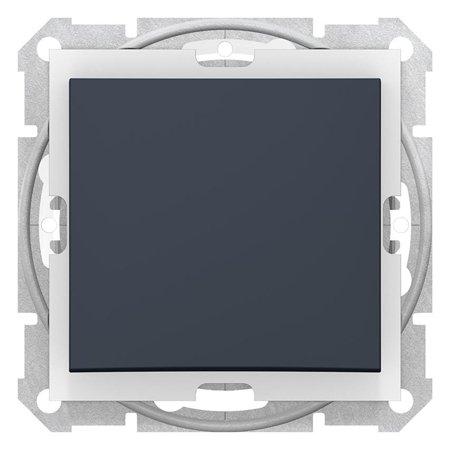 Vypínač 1-pólový IP44, grafitová Sedna SDN0100370 Schneider Electric