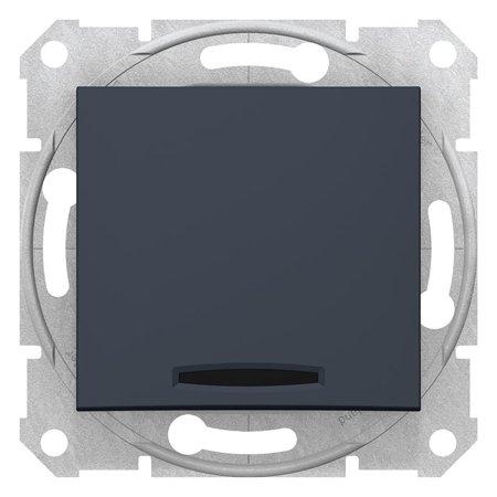 Vypínač 1-pólový se signalizací zapnutí grafitová Sedna SDN0400370 Schneider Electric