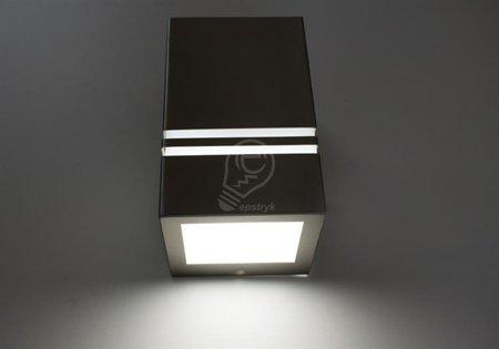 Zahradní fasádní lampa Inox, Keler GU10 Struhm