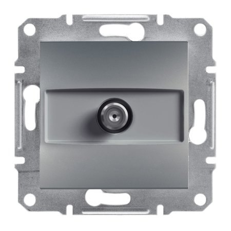 Zásuvka SAT koncová bez rámečku, ocel Schneider Electric Asfora EPH3700162