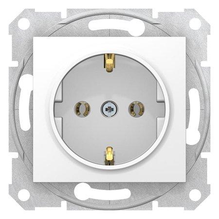 Zásuvka SCHUKO bílá Sedna SDN3001821 Schneider Electric