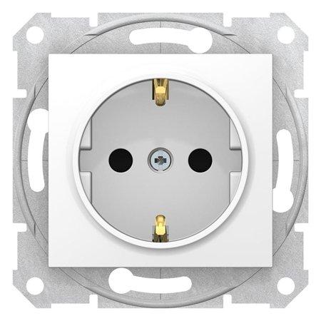 Zásuvka schuko bílá Sedna SDN3000121 Schneider Electric