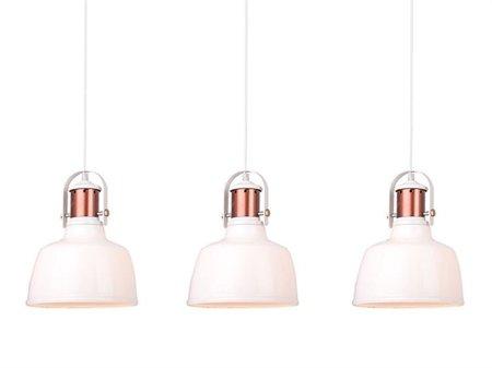 Závěsná lampa Darling 3 bílá Azzardo MD71940-3