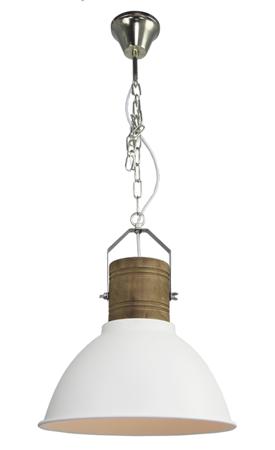 Závěsná lampa Duncan bílá Azzardo H5144-40 WH