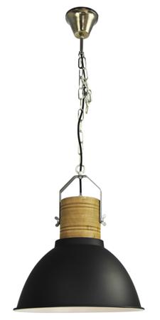 Závěsná lampa Duncan černá Azzardo H5144-40 BK