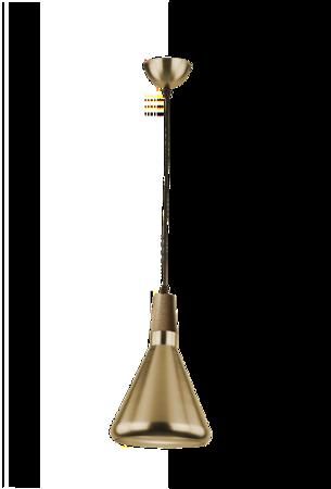 Závěsná lampa Ida AGO S zlatá Azzardo 42933-1D AGO