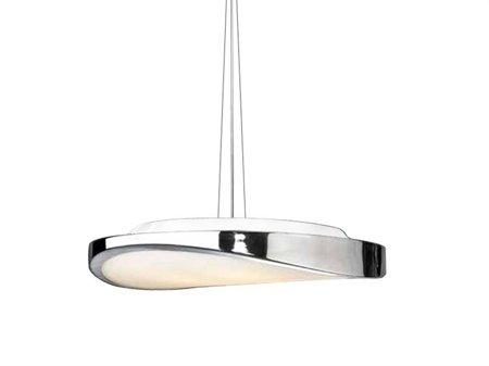 Závěsná stropní lampa Circulo 48 chrom Azzardo AZ0986